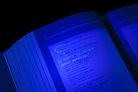 """uv light book"""