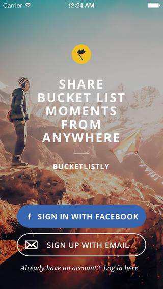 Goal-Oriented Apps - The Goal Tracking App Bucketlistly Turns Goals into Competitions