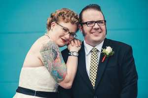 Mike Allebach Snaps Pictures of Tattooed Brides on Their Big Day