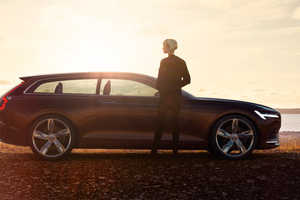 The Volvo Concept Estate is a Celebration of Scandinavian Auto Design