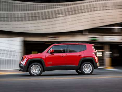 Compact Adventure SUVs - The 2015 Jeep Renegade Appeals to Urban Drivers with a Thirst for Adventure