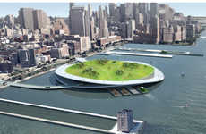 Metropolitan Compost Islands - The Green Loop Network Will Add an Eco-Friendly Edge to the Big Apple