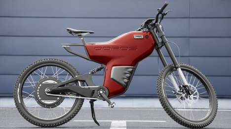 Cloud-Connected Concept Bikes - This Chinese Concept