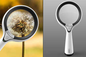 This Magnifying Glass Camera Makes Capturing Details Easy