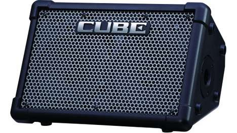 Portable Busking Amplifiers - The 'Cube Street EX' Amp by Roland is Meant for Musicians on the Go