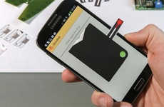 Smartphone Display Blood Tests