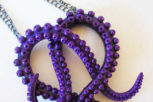 Octopus Jewelry Displays the Beauty of Tentacles Without the Slime