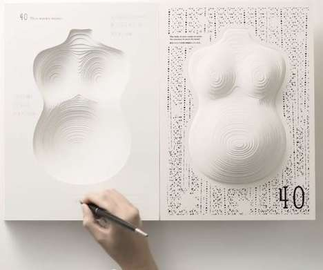 3D Pregnancy Diaries - This Pregnancy Diary Grows Over Nine Months Like a Pregnant Woman