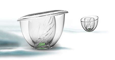 Purposefully Cracked Cups - BeauTea by Martin Xiaonan Reflects on Tradition of Tea Drinking