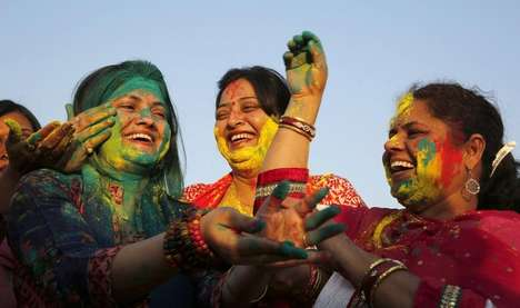 Colorful Holi Photography - These Photos of People's Celebration of Spring are Colorful