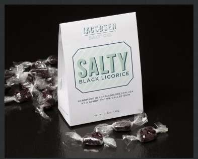 Salty Scandinavian Licorice - Jacobsen Salt Co.