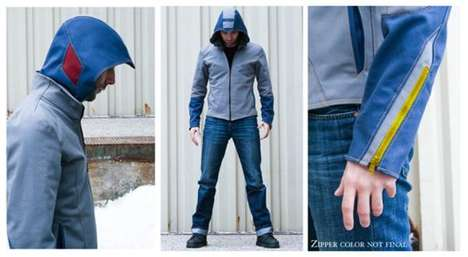 Video Game-Inspired Jackets - Enzo Volante Makes MegaMan Jackets
