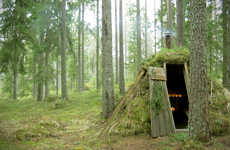 Moss Hut Hotels - The Kolarbyn Eco-lodge in Sweden is Based on Shelters from Centuries Ago