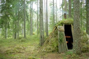 The Kolarbyn Eco-lodge in Sweden is Based on Shelters from Centuries Ago