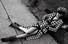 Smouldering Urban Fashion - Vamp Magazine Spring/Summer Issue Stars Rosie Huntington-Whiteley