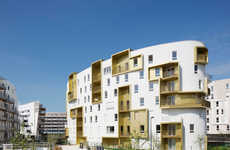 Converted War Site Flats - Guérin & Pedroza Architects Designed This Unique Residential Distric