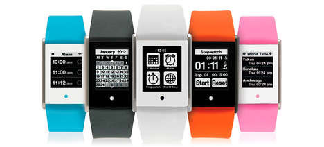 Compact Multi-Purpose Smartwatches - Phosphor Introduced Its Compact, Multi-Purpose 'Touch Time'