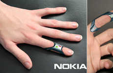 Hands-Free Cell Phones - The Nokia FIT Brings Your Cell Phone Directly to Your Finger Tips