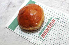 Caramelized Sugar-Crusted Donuts - Krispy Kreme is Offering a Creme Brulee Donut