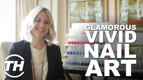 Glamorous Vivid Nail Art - Rita Remark of Essie Canada Speaks on Female Empowerment Through Color