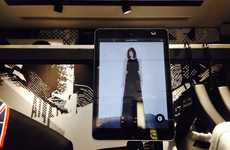 Selfie-Friendly Fitting Rooms - Karl Lagerfeld's Designer Retail Store has Built-In Selfie Stations