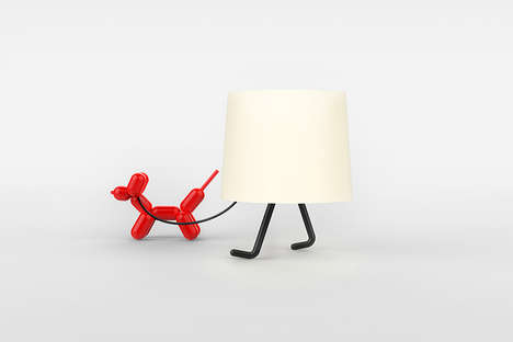 Playfully Personified Lamps - The Korean Design Studio Named Rising Created