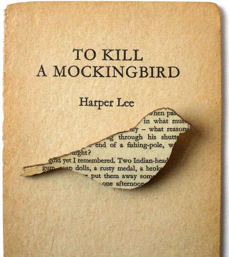Vintage Book Brooches - House of Ismay Creates Adorable Literary Accessories