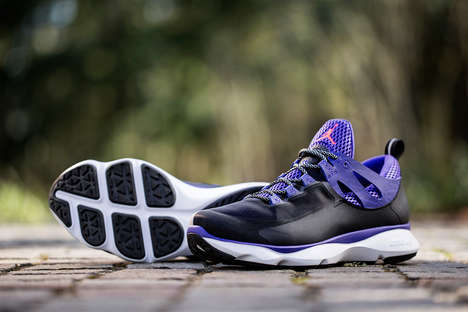 Iconic Basketball Crossover Trainers - The Jordan Flight Runner is Air Jordan