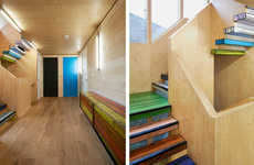 Colorful Floorboard Abodes