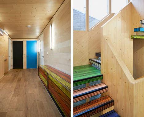 Artsy Wooden Homes