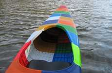 3D Printed Kayaks - Jim Smith Made the World's First 3D Printed Kayak and It's Vibrantly Fantastic