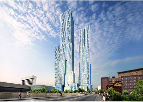 Skyline-Redefining Towers - HWKN and Handel Architects Are Building New Jersey