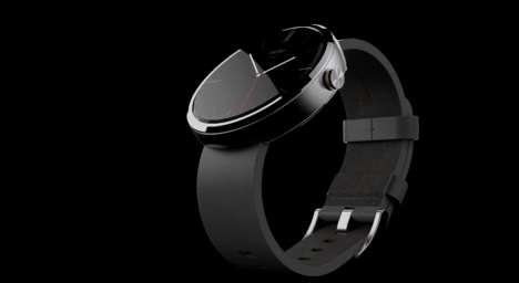 Contemporary Smartphone Watches - Motorola's Smartwatch the Moto360 Combines Past with the Future