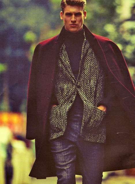 100 Fashionable Coats for Men - From Classic Contemporary Menswear to Male Neo-Gothic Getups
