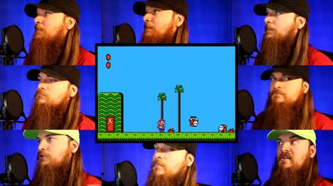 Acapella Gamer Theme Songs - Smooth McGroove's Creates the Super Mario Bros. 2 Theme with His Voice