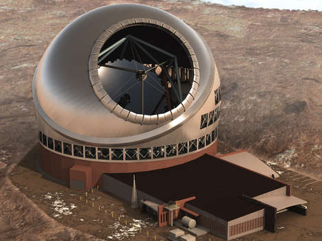 Massive Optical Telescopes - The Thirty Meter Telescope (TMT) is the Most Powerful in the World