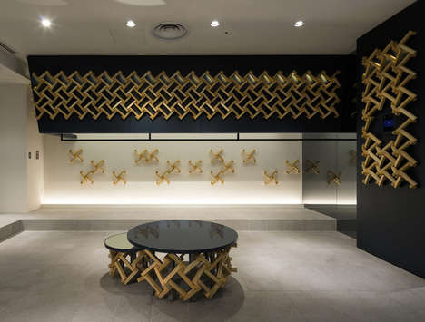 Latticed Flagship Stores - The Design Labo Updates the Jun Hashimoto Tokyo Flagship Store