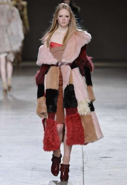 Eclectic Bohemian Runways - The Topshop Autumn/Winter 2014 Collection is Fun and Kitschy
