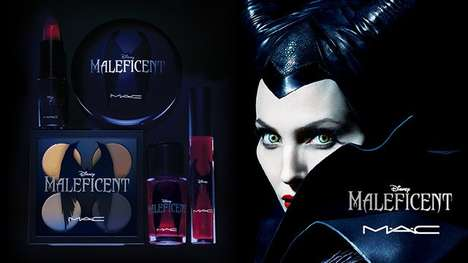 Disney-Inspired Makeup - The Mac Cosmetics x Maleficent Collection is Dark and Villainous
