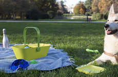 Vibrant Pet Picnic Baskets