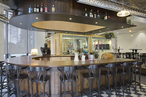 Pub-Inspired Offices - The New Office Design of Airbnb Dublin Resembles an Irish Pub