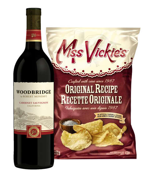 Gourmet Date Night Snacks - Woodbridge by Robert Mondavi and Miss Vickie's Make the Perfect Couple
