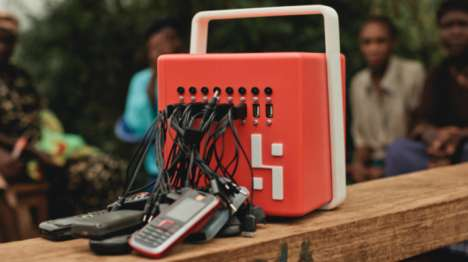 Solar-Powered Chargers - These Chargers are Being Used to Charge Phones in Developing Countries