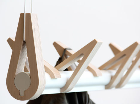 Bird-Inspired Coat Racks