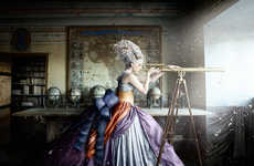 Magical Palace Photography - Alexia Sinclair Brings Viewers into a Fantasy World with A Frozen Tale