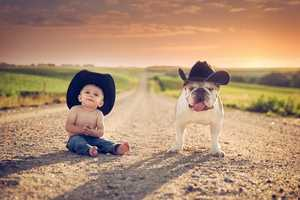 Jake Olson Photographs Kids and Animals