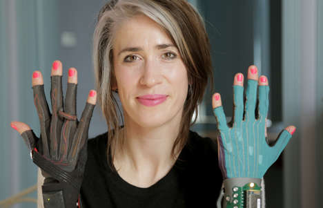 Music-Making Gloves - Musician Imogen Heap is Working on Electric Sound-Producing Gloves