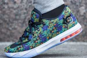 The Nike KD 6 Florals are the Latest From the Kevin Durant Collection