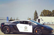 Luxurious Police Vehicles - LAPD Introduces the Lamborghini Gallardo Police Car to the Streets of LA