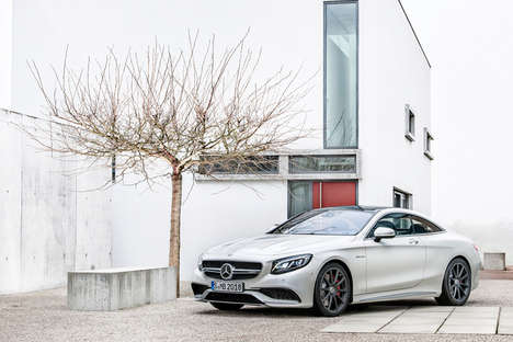 Curve-Tilting Cars - The 2015 Mercedes-Benz S63 AMG Leans into the Turns